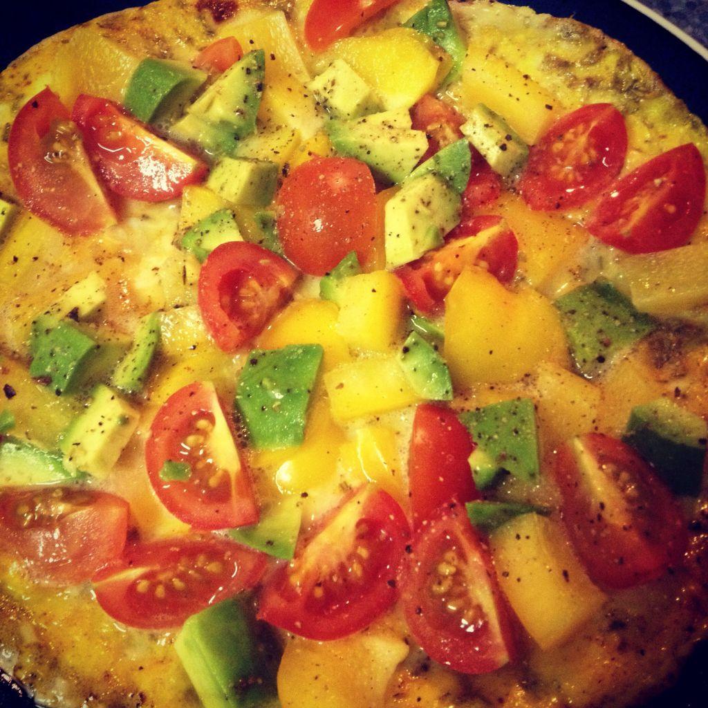 Avocado Omelette - Rezept - Marsmädchen