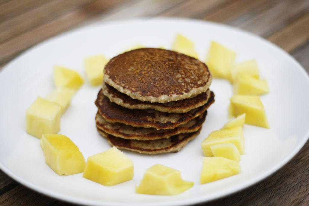 vegane amaranth chia pancakes rezept marsm dchen. Black Bedroom Furniture Sets. Home Design Ideas