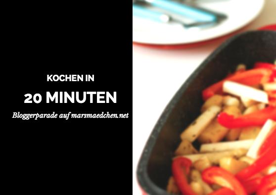 Kochen 20 Minuten
